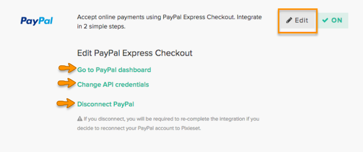 Accepting Payments with PayPal – Pixieset - Help Center
